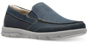 Clarks Men's Jarwin Race Moc-Toe Slip-Ons Men's Shoes
