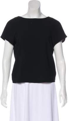 Alice + Olivia Short-Sleeve Bateau-Neck Top