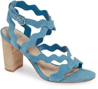 Paige Sage Scalloped Sandal