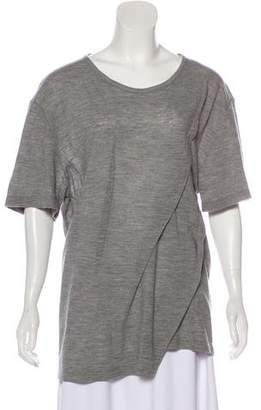 Maison Margiela Wool Distressed Top