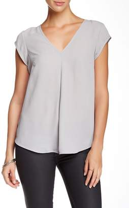 Daniel Rainn DR2 by V-Neck Woven Blouse