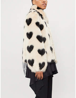 Cullen Shrimps faux-fur jacket