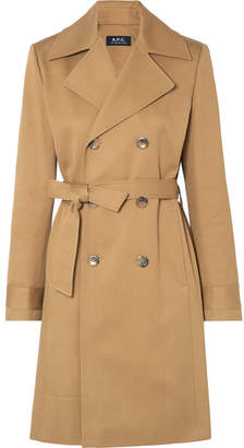 A.P.C. Alexis Cotton-drill Trench Coat