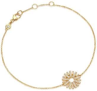 Astley Clarke Gold Rising Sun Diamond Bracelet