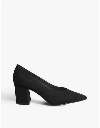 Office Mama faux-suede courts