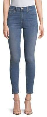 Frame Le High Rise Skinny Jeans