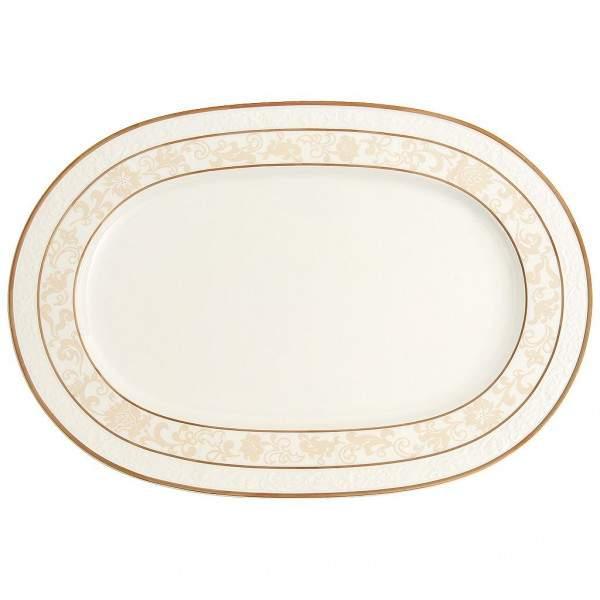 Ivoire Platte oval
