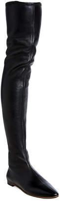 Bottega Veneta Napa Leather Over-The-Knee Boots