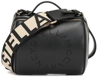Stella McCartney Logo faux-leather cross-body bag