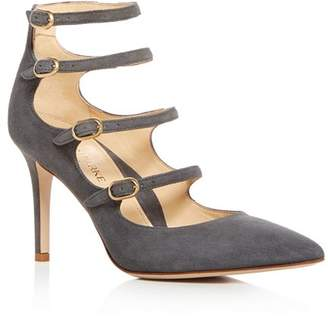 MARION PARKE Women's Mitchell Strappy Mary Jane High-Heel Pumps