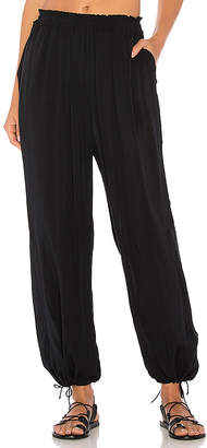 Seafolly Voile Jeanie Pant in Black $102 thestylecure.com