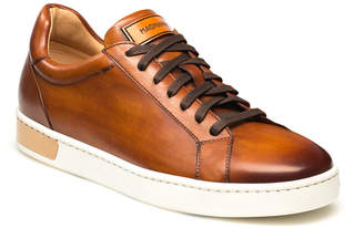 Magnanni Men's Boltan Caballero Hand-Painted Leather Low-Top Sneakers