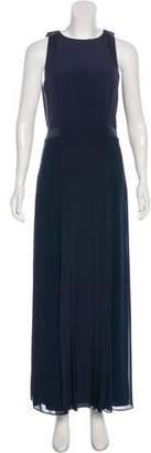 Paul Smith Silk Pleated Maxi Dress