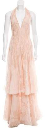 Valentino Silk Embellished Gown