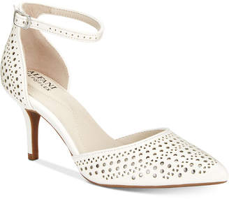Alfani Women's Joyy Step 'N Flex Perforated d'Orsay Pumps, Created for Macy's Women's Shoes