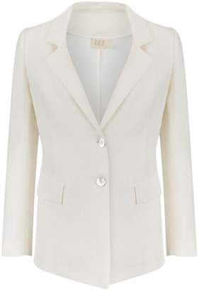 Dor Raw Luxury - At Good Old Pera Linen Jacket Oyster