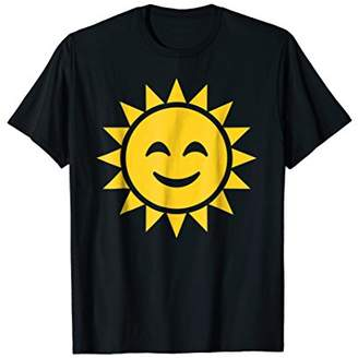 Cute Emoji Sun Simple Design T shirt Happy and Cute Gift Tee