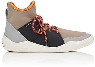 Lanvin Men's Neoprene & Leather Sneakers