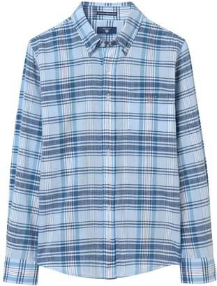Gant Boys Authentic Indian Madras Shirt