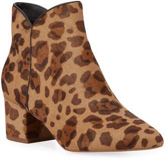 Cole Haan Elyse Leopard-Print Ankle Booties