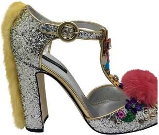 Dolce & Gabbana Glitter sandal