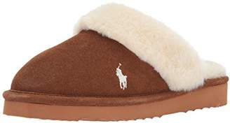Ralph Lauren Women's Polo Charlotte Gen Suede Scuff Slip on Slipper