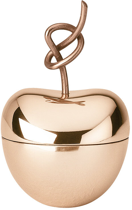 Ghidini 1961 - Knotted Cherry Trinket Box - Rose Gold - Medium