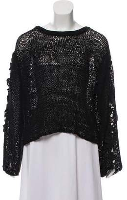 See by Chloe Cropped Oversize Sweater