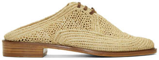 CLERGERIE Beige Jaly Slip-On Derbys