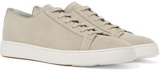 Santoni Nubuck Sneakers