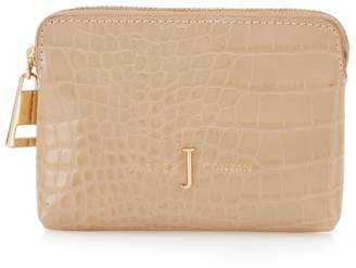 fa678dc147f5 at Debenhams · J by Jasper Conran Camel Croc-Effect Coin Purse