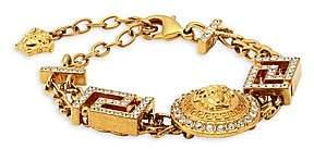Versace Greca Swarovski Crystal-Embellished Baroque Bracelet