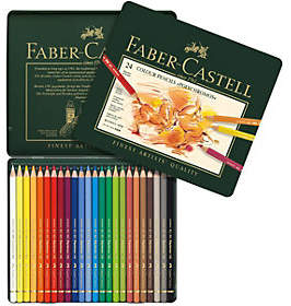 Faber-Castell Polychromos 24-Piece Colored Penc