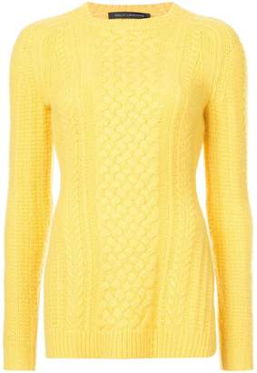 Sally Lapointe cable-knit jumper