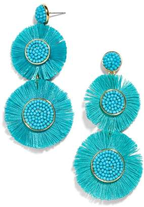 BaubleBar Mariette Fringe Earrings