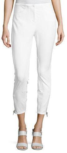 3.1 Phillip Lim3.1 Phillip Lim Jodhpur Ankle-Zip Leggings, Antique White