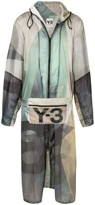 Y-3 Sailing poncho jacket