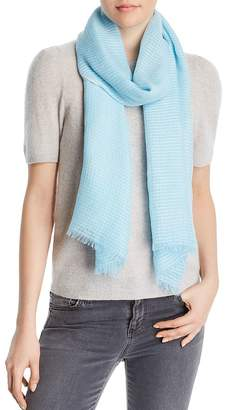 Fraas Textured Striped Scarf