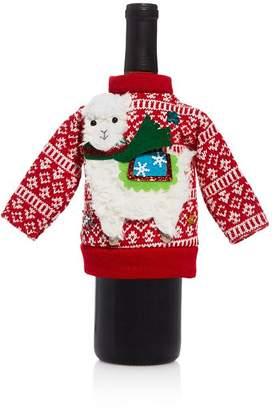 Bloomingdale's Alpaca Christmas Sweater Bottle Cover - 100% Exclusive
