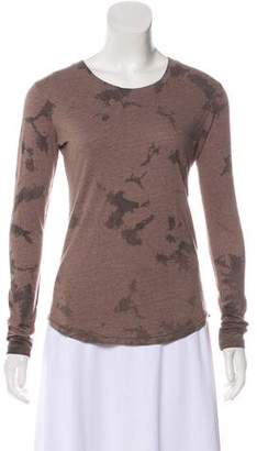 Raquel Allegra Crew Neck Long Sleeve Top