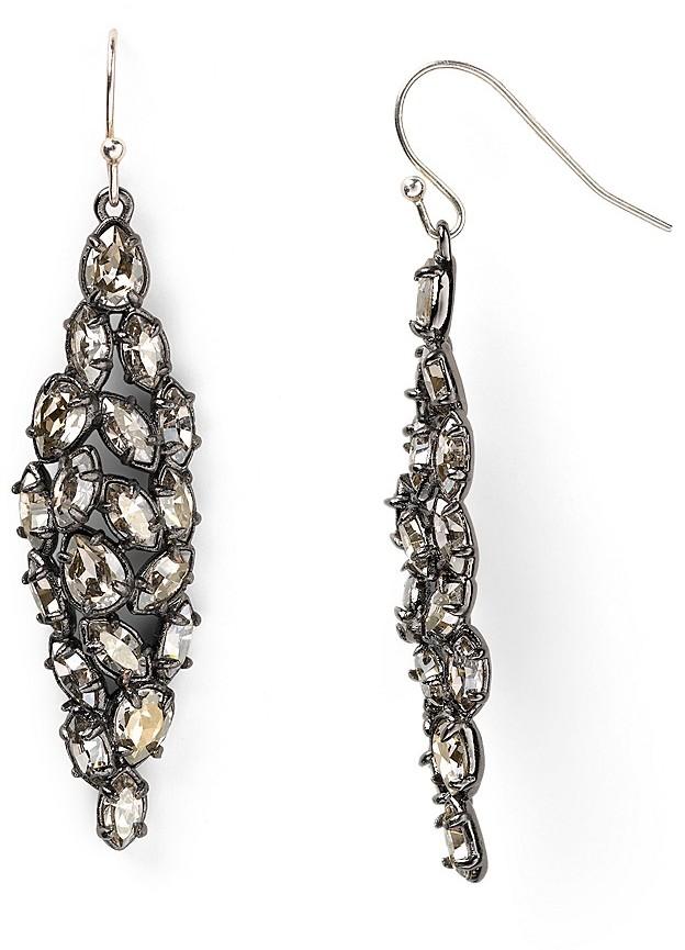 Alexis Bittar Marquise Crystal Earrings