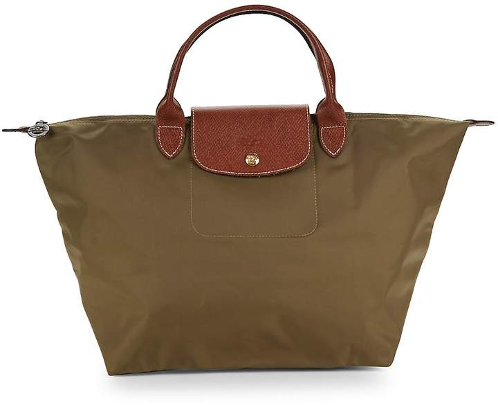 Longchamp Women's Le Pliage Top Handle Bag - Beige - BEIGE - KHAKI - STYLE