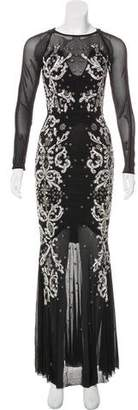 French Connection Embellished Evening Gown w/ Tags