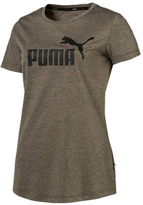 Puma No. 1 Logo Graphic Heathered Tee