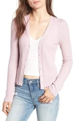 BP Slim Long Sleeve Button Cardigan (Regular & Plus Size)
