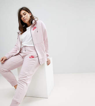 Nike Plus Rally Cuffed Sweat Pants In Pink