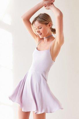 Kimchi Blue Sydney Straight-Neck Fit + Flare Mini Dress $69 thestylecure.com