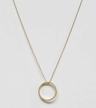 Orelia gold plated future is female ring pendant necklace