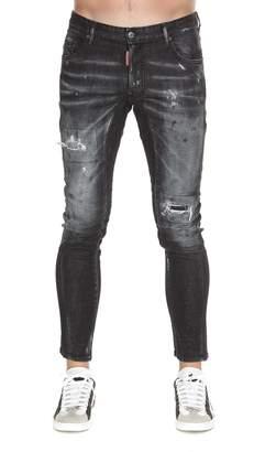 DSQUARED2 Night Fog Tidy Biker Jeans