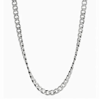 JCPenney FINE JEWELRY Mens Stainless Steel 24 7mm Curb Chain